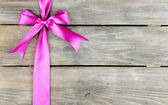 Background with beautiful bow — Stockfoto