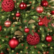 Decorated Christmas tree — Stock Photo #61011131