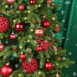 Decorated Christmas tree — Stock Photo #61011135