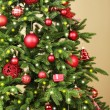 Decorated Christmas tree — Stock Photo #61011151