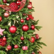 Decorated Christmas tree — Stock Photo #61011177