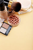 Basic make-up products — Stock Photo