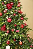 飾られたクリスマス ツリー — ストック写真