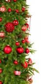 Albero di Natale decorato — Foto Stock