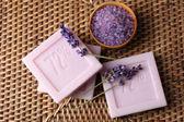 Barres de savon naturel — Photo