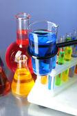 Different laboratory glassware — Stockfoto