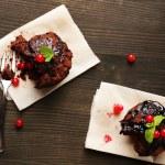 Yummy chocolate cupcake — Stock Photo #61044139