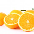 Ripe tangerines and oranges — Stock Photo #61045635