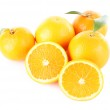 Ripe tangerines and oranges — Stock Photo #61045637
