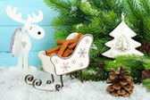 Composition of Christmas decorations — Stock Photo