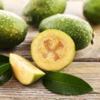 Feijoa on table close-up — Stock Photo #61051219