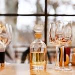 Wine tasting in bar — Stock Photo #61059145
