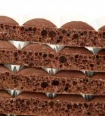 Tasty porous chocolate — Stock Photo