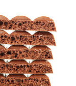 Tasty porous chocolate — Foto Stock