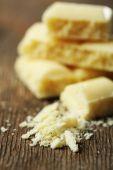 Tasty white porous chocolate — Stock Photo