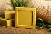 Rosemary handmade soap — Stockfoto