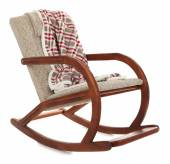 Modern rocking-chair — Stock Photo