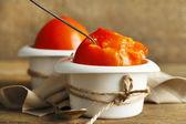 成熟的甜柿子 — 图库照片