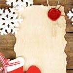 Handmade Christmas decorations — Stock Photo #61092019