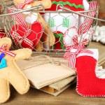 Handmade Christmas decorations — Stock Photo #61092027