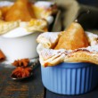 Small pear pies — Stock Photo #61094431