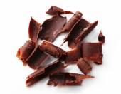 Riccioli di delizioso cioccolato — Foto Stock