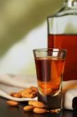 Dessert liqueur Amaretto — Stock Photo