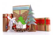 Hand-made Christmas gifts — Foto Stock