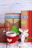Hand-made Christmas gifts — Stockfoto