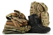 Army combat uniform — Stock Photo