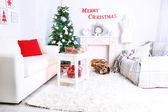 Beautiful Christmas interior — Photo