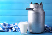 Retro can for milk — Stock Photo