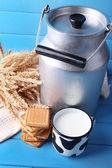 Retro puede para leche — Foto de Stock