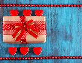 Cute gift for valentines day — Stock Photo