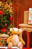 Decorated Christmas living room — Stock Photo