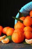 Mandarinas frescas maduras — Fotografia Stock