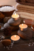 Composition of spa treatment — Stock Photo