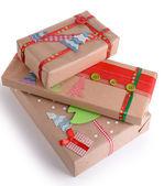 Hand-made Christmas gifts — Zdjęcie stockowe