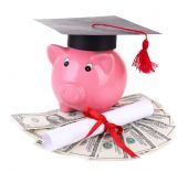 Education costs concept — Stock Photo