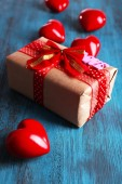 Cute gift for Valentine's Day — Stock Photo