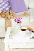 Apartment interior and decor — Stock Photo