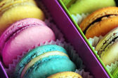 Gentle colorful macaroons — Stock Photo