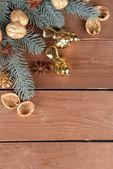Beautiful Christmas composition — Stock Photo