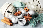 Beautiful Christmas composition — Stock Photo