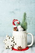 Beautiful Christmas composition — Foto de Stock
