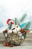 Mooie kerst compositie — Stockfoto