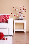 Cozy Christmas home interior — Foto de Stock