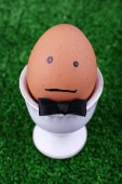 Edd in egg cup — Stock Photo