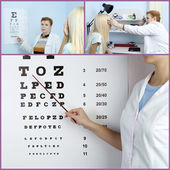 Health care, medicine and vision concept — Stock Photo