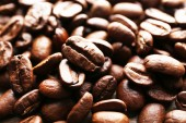 Coffee beans, close-up — Stock Photo